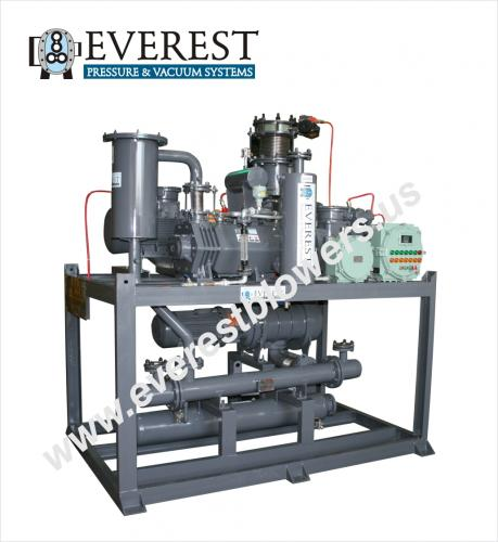 Dry Screw Vacuum Pumping System