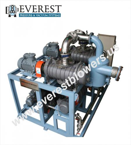 Waste Oi re-refining High Vacuum System